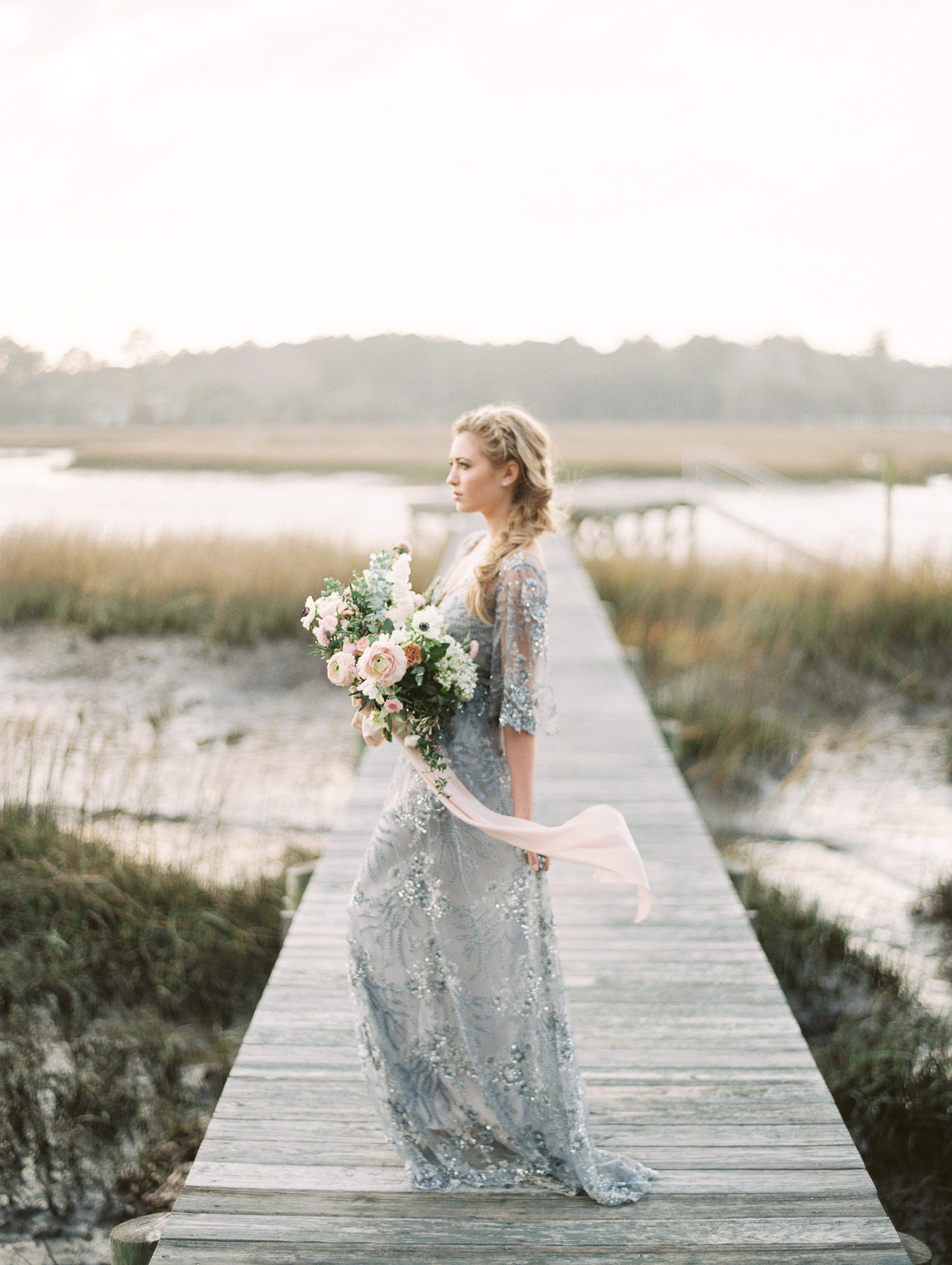 Rose Quartz and Serenity Wedding Inspiration - Pantone Colors of the ...