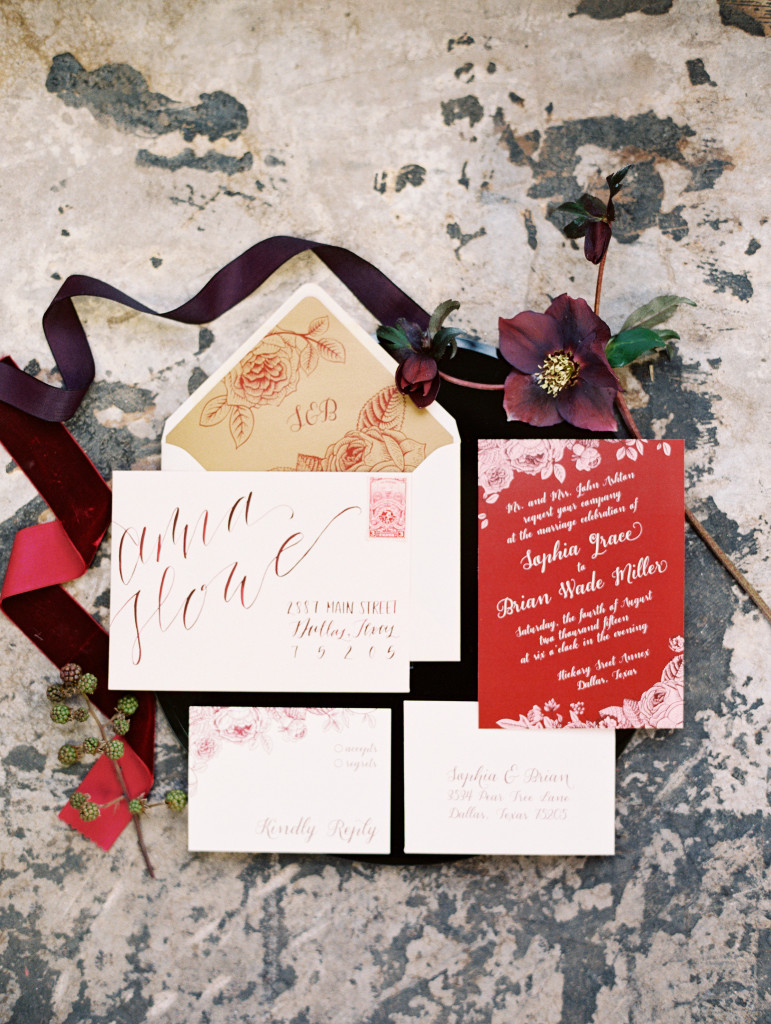 Pantone Color of the Year 2015 - Marsala - Birds of a Feather Events