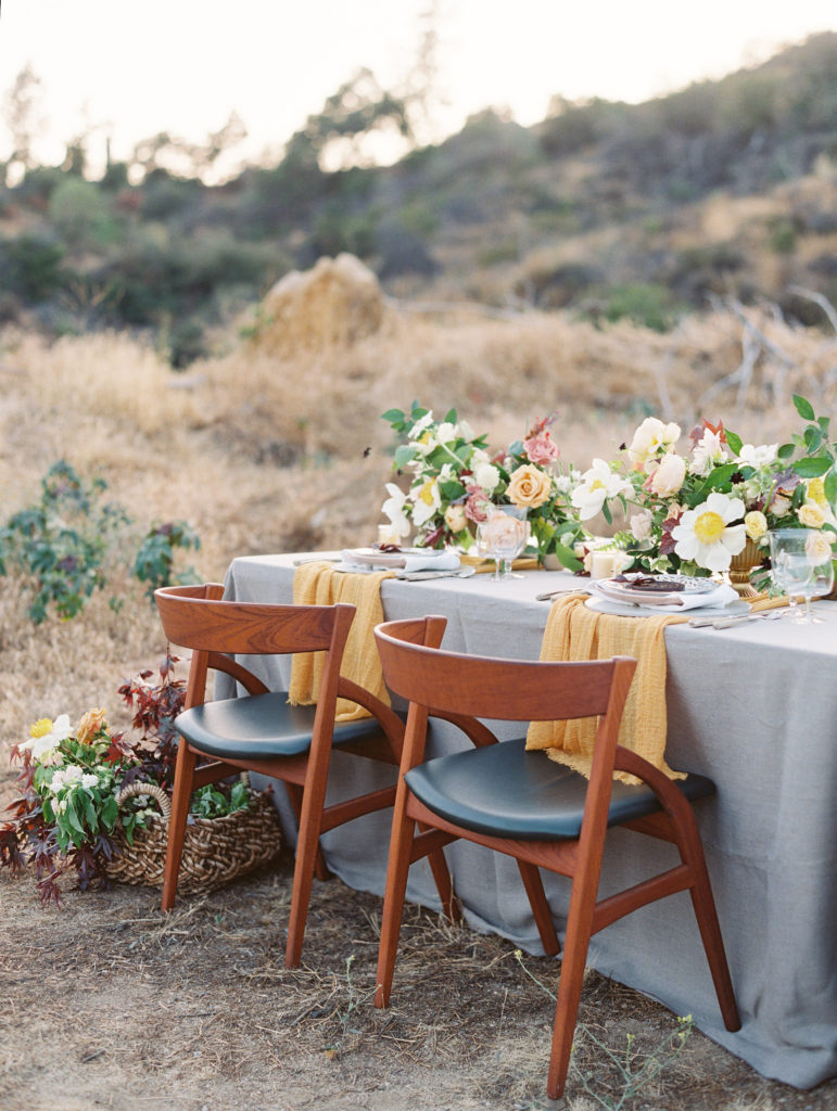 Griffith Canyon wedding inspiration